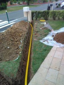 Installation d'alimentation gaz